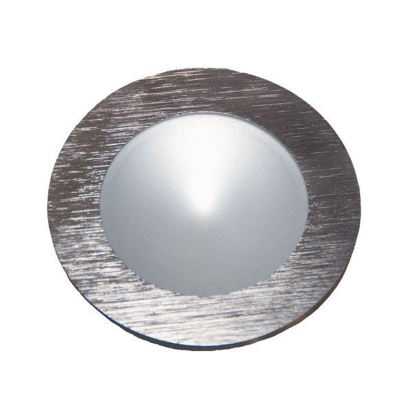 Led Puck Light Recessed 3200k Brushed Aluminum Alico
