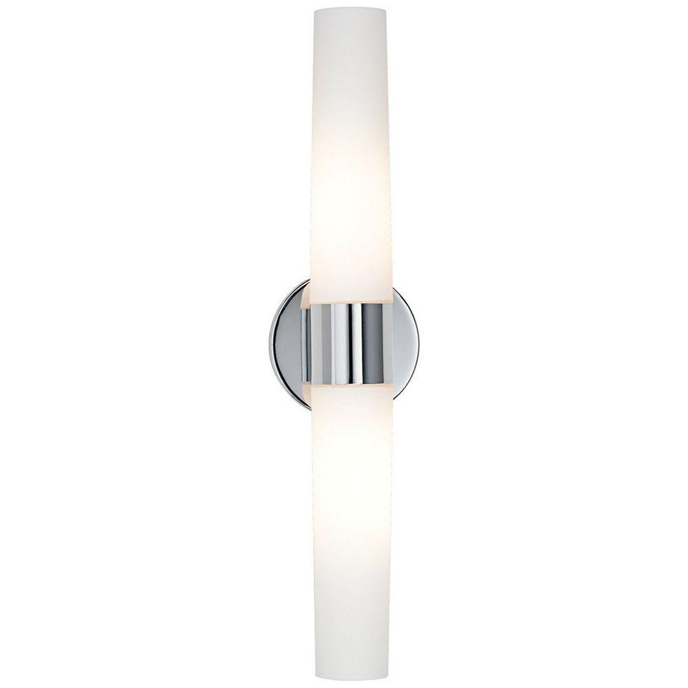 Bath Art Chrome Bathroom Light  Vertical or Horizontal