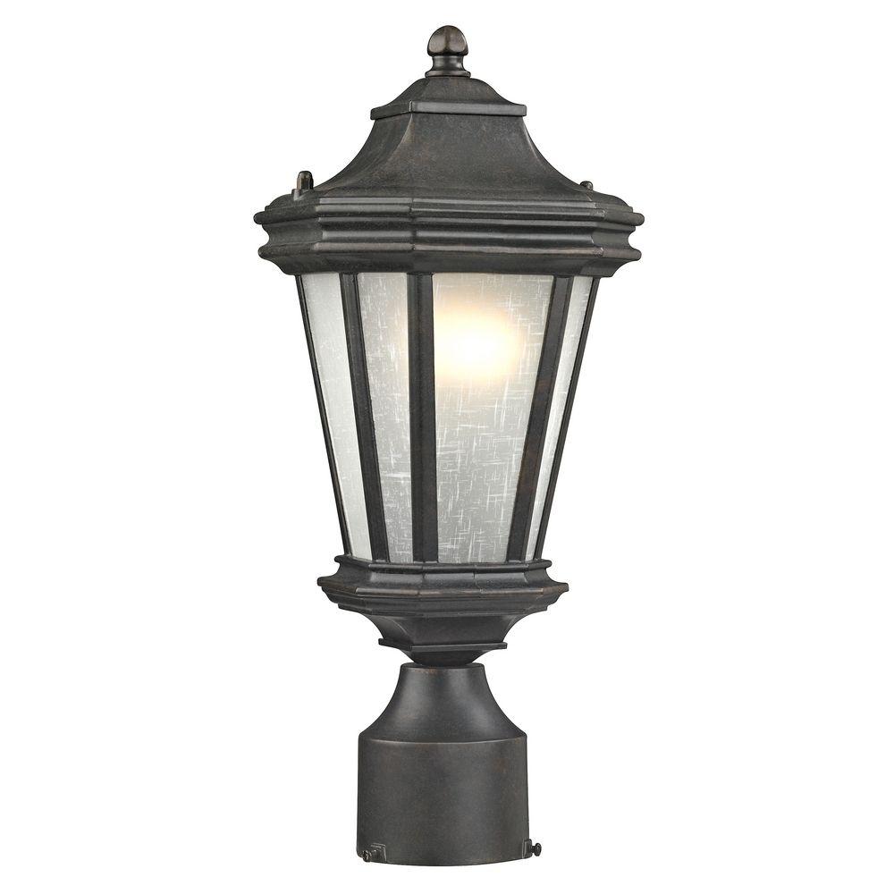Dolan Designs Lakeview Olde World Iron Post Lighting