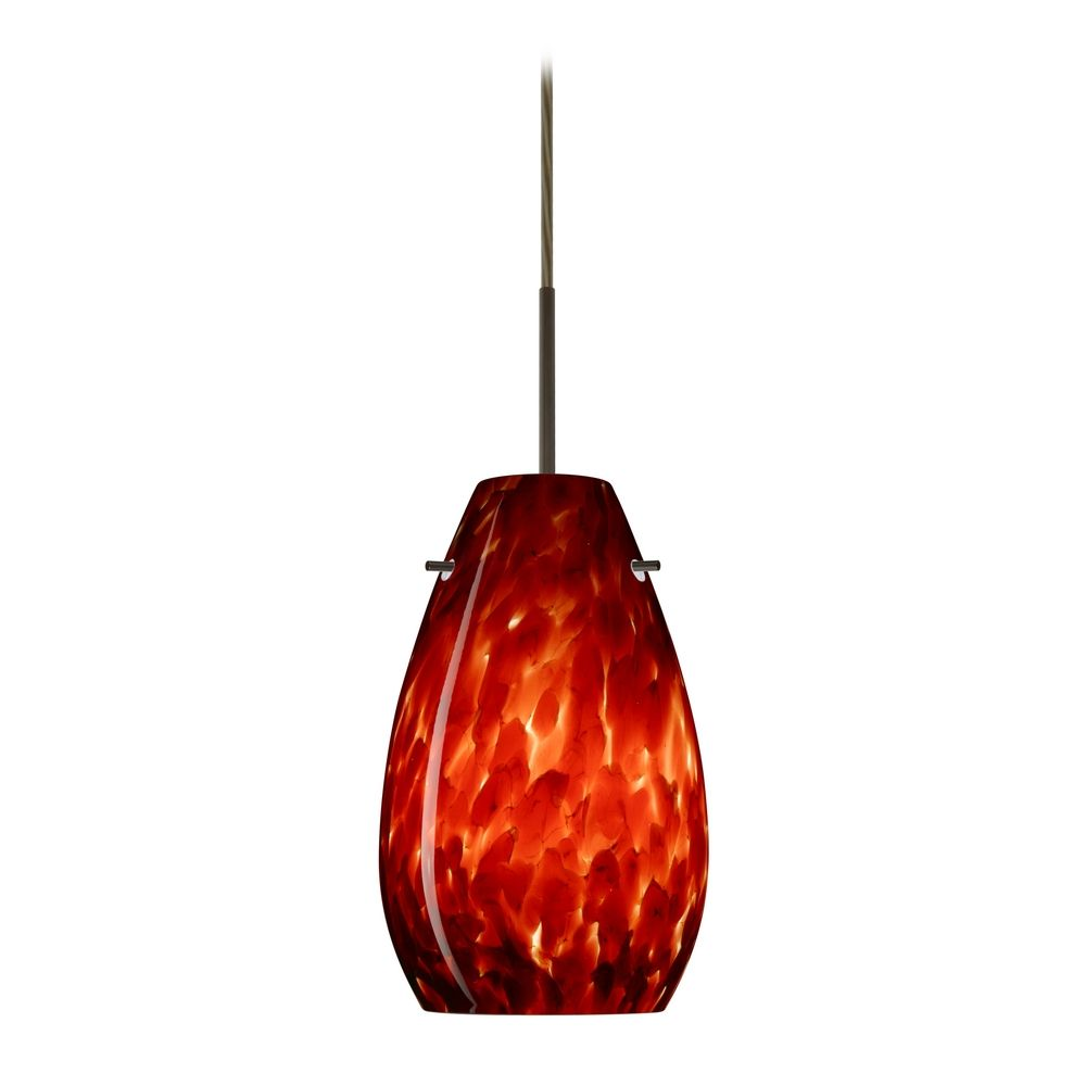 Modern Red Pendant Lighting