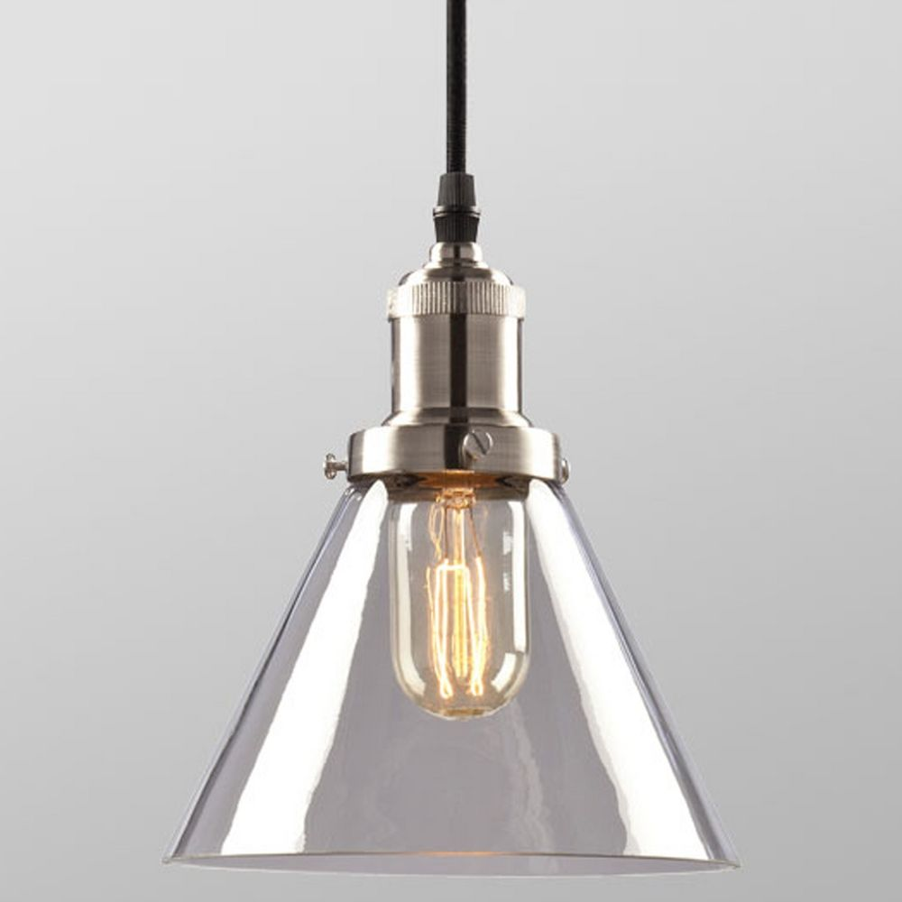 Nickel Pendant Light