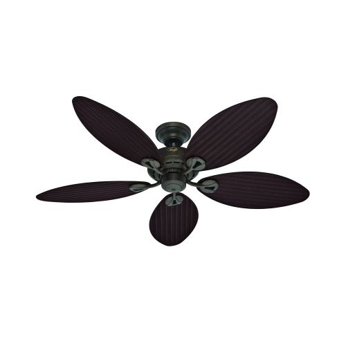 small resolution of hunter fan company hunter fan company bayview provencal gold ceiling fan without light 54098