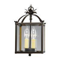 Progress Bronze Square Lantern Mini-Pendant Light with ...