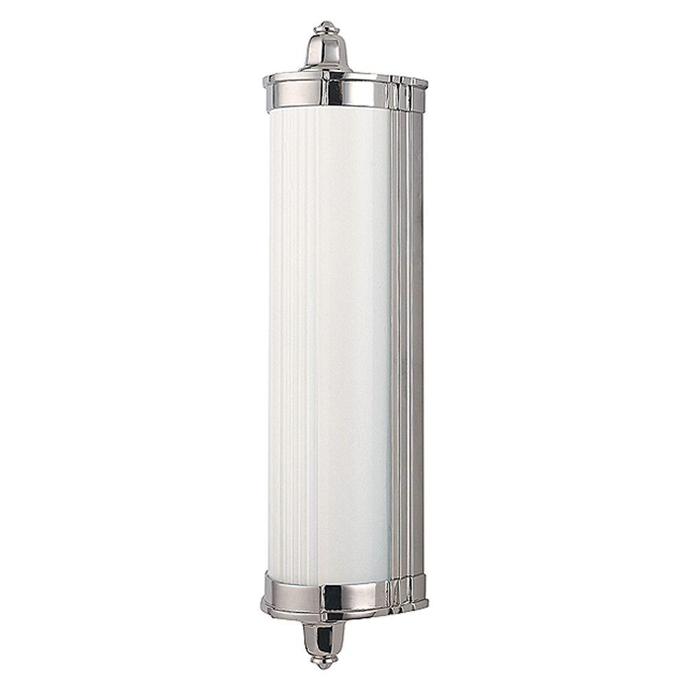 Nichols Polished Nickel LED Bathroom Light  708PN