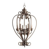 Quorum Lighting Bryant Oiled Bronze Pendant Light | 6854-9 ...