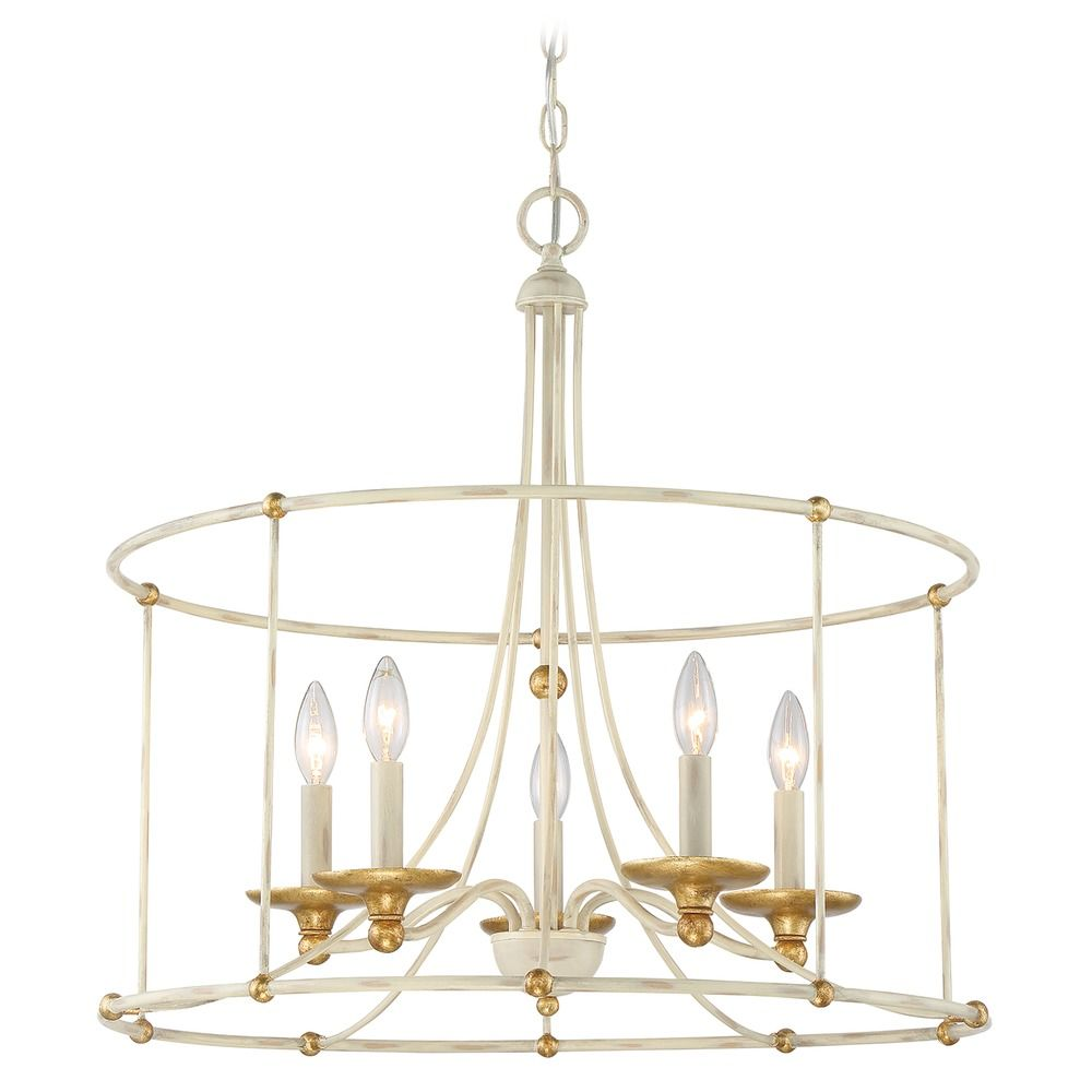 minka lavery westchester county farm house white with gilded gold leaf chandelier at destination lighting