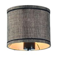 Bronze Gold Drum Lamp Shade with Uno Assembly | 93765SHORB ...