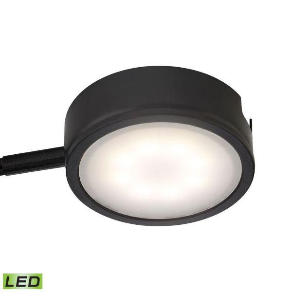 Led Puck Light Surface Mount 3000k Black Alico Lighting Mle301-5-31 Destination