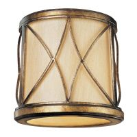 Gold Cylindrical Lamp Shade with Uno Assembly | SH1962 ...