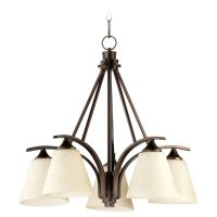 Quorum Lighting Winslet Ii Oiled Bronze Chandelier | 6329 ...