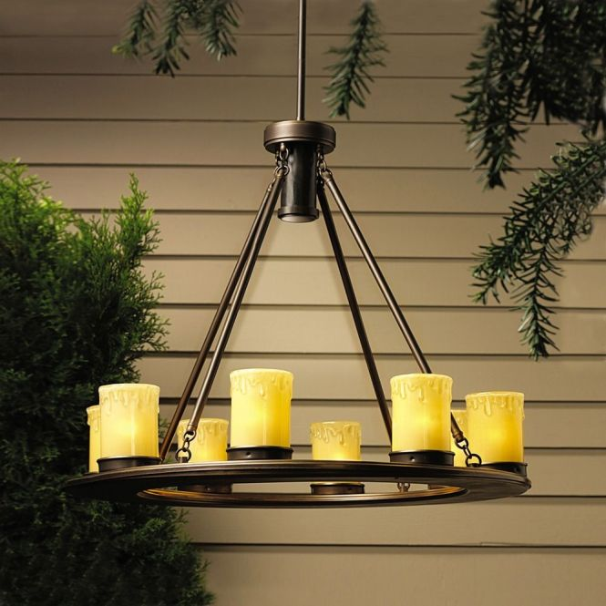 Kichler Low Voltage Outdoor Chandelier Rm1