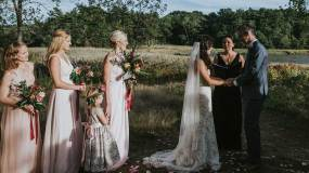 A Wedding at Gilsland Farm