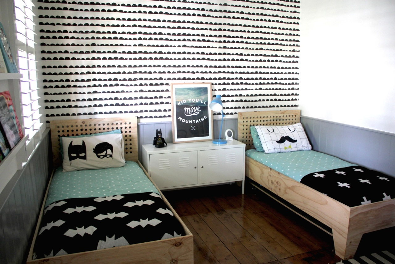Modern Shared Big Kids Room for 2 boys  Destination Nursery