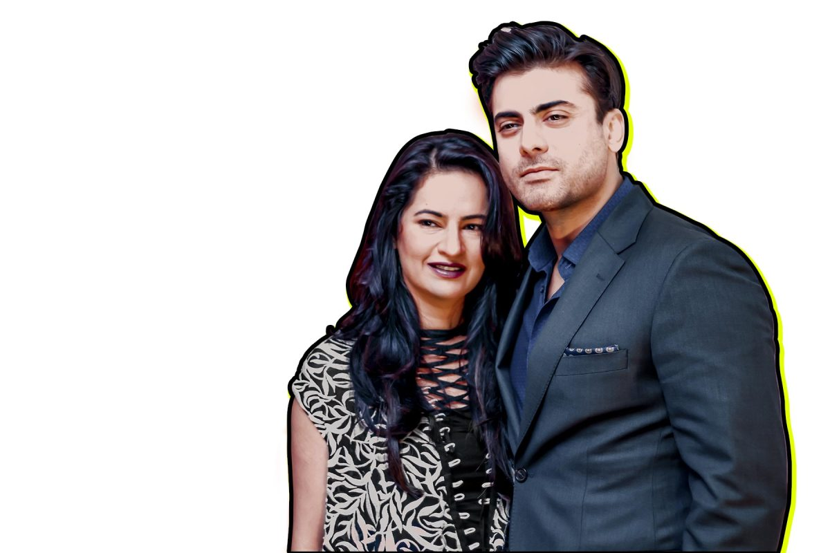 Sadaf Fawad and Fawad Khan