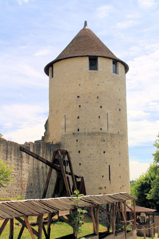 Provins City Wall Tower