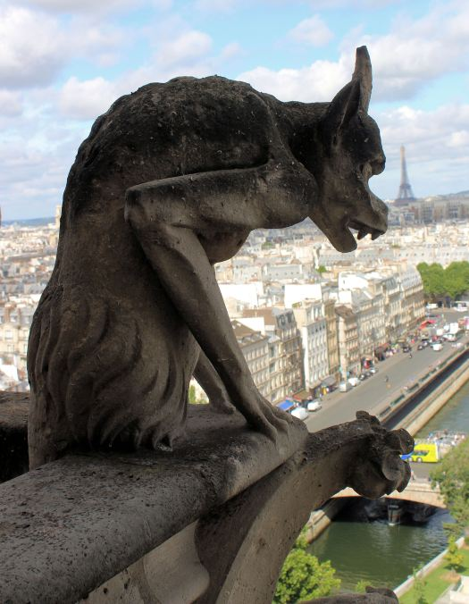 Gargoyle on the Bell Towers