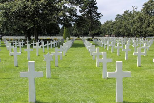 US War Cemetery Omaha Beach