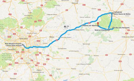 Champagne Region Tour