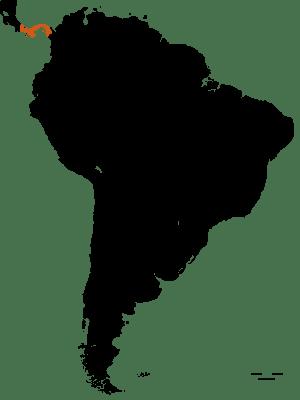 Carte du Panama - DESTINATIONS LATINES