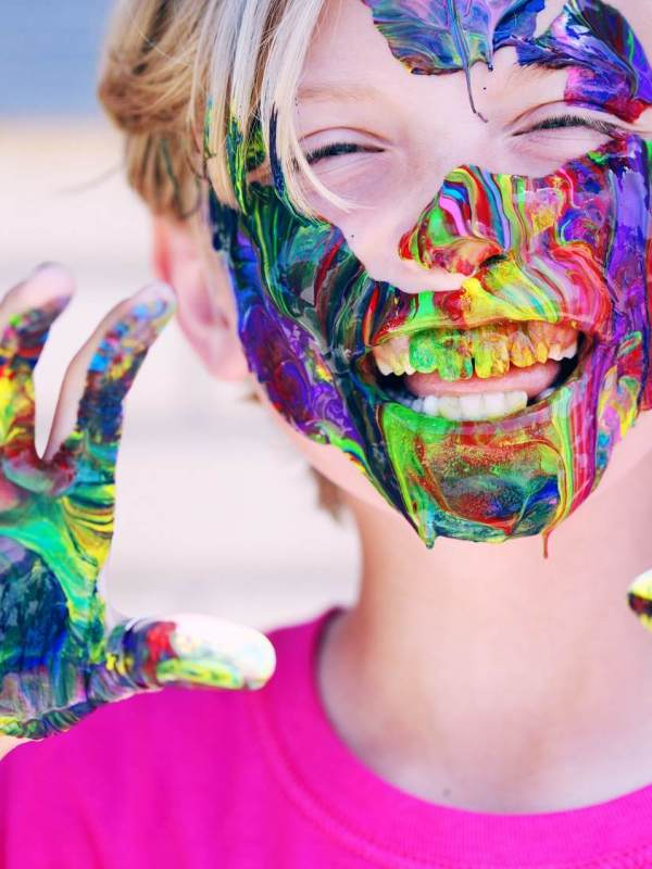 Colorful Face