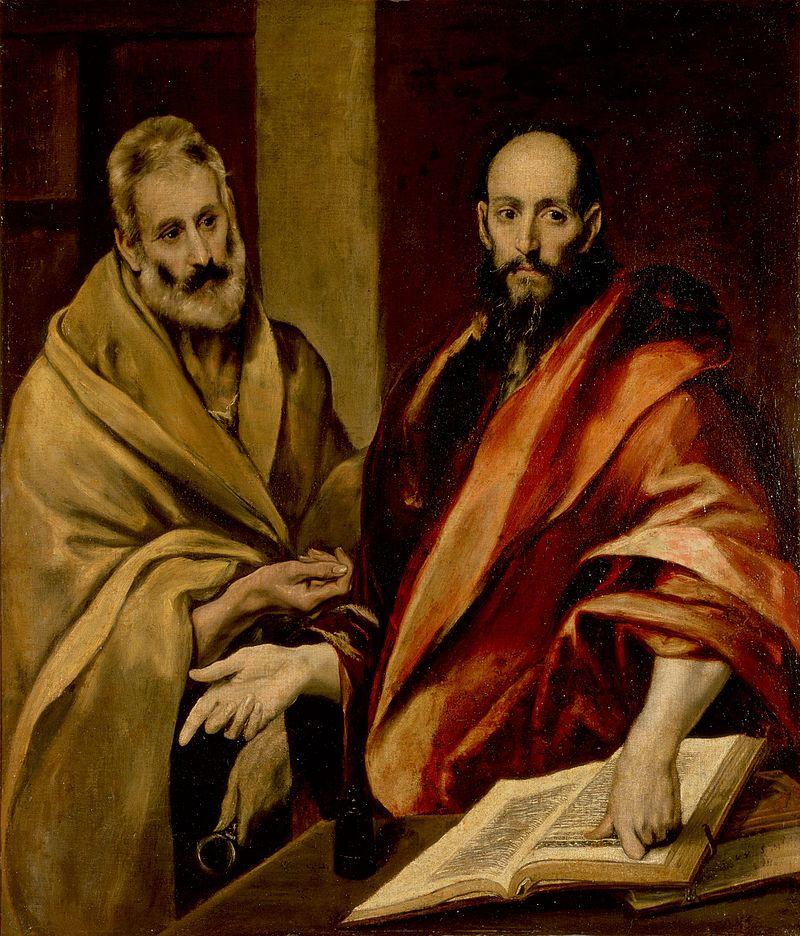 Sfântul Petre și sfântul Pavel