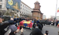 Funeraliile Regelui Mihai25a