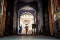 Entrance to Mandir Shri Ramchandraji