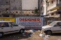 Designer ad in the streets of Jaipur