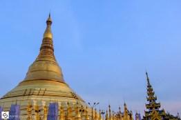The large Shwedagon Pagoda