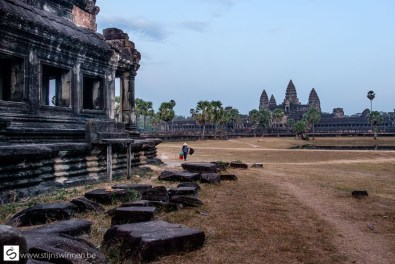 Almost alone at Angkor What