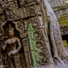 Detail at Ta Phrom