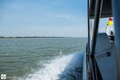 Going from Cambodia to Vietnam by boat over the Mekong