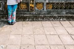 Colorful pants in Vietnam