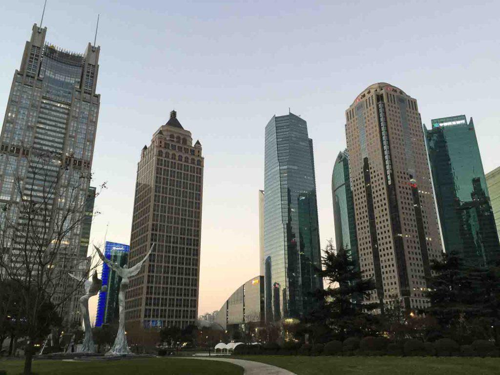 Predios futuristicos na China