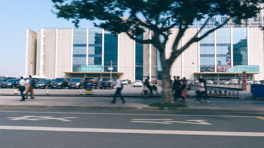 Antidumping na Importação Imagem de frente de aeroporto internacional na china