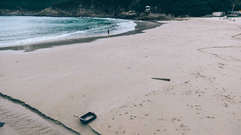 Como importar da China em grande quantidade Vista das praias de Hong Kong