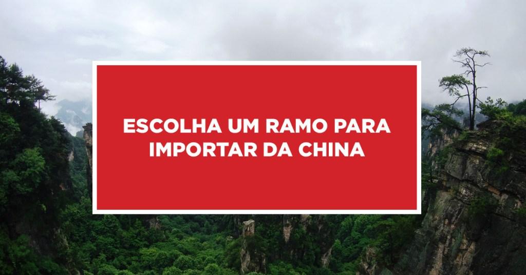 Escolha um ramo para importar da China Lugar ideal para importação da China, fazendo a escolha certa