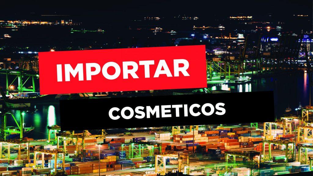 Posso importar cosméticos da China