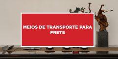 Meios de Transporte para Frete Disponibilidade para diversos meios de transporte para frete na China