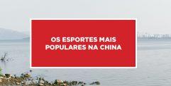 Os esportes mais populares na China Popularidade dos mais conhecidos esportes da China