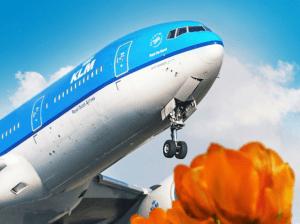 Voos com desconto na KLM