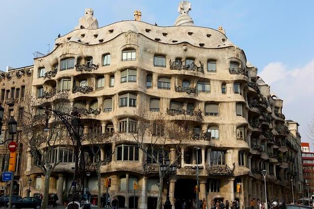 Obras de Gaudi em Barcelona - Casa Milá