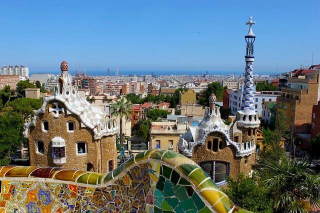 Parc Guell em Barcelona