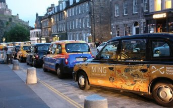 Chegar a Edimburgo