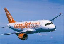 Viagens baratas desde 15 euros na Easyjet