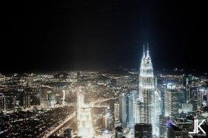 Circuito turístico na Malásia