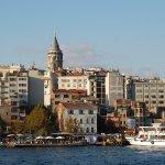Istambul ao fim da tarde
