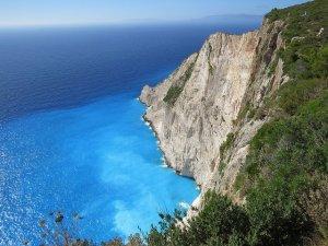 Ilhas gregas em julho e agosto