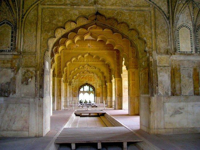 Forte Vermelho, um dos símbolos turísticos de Deli