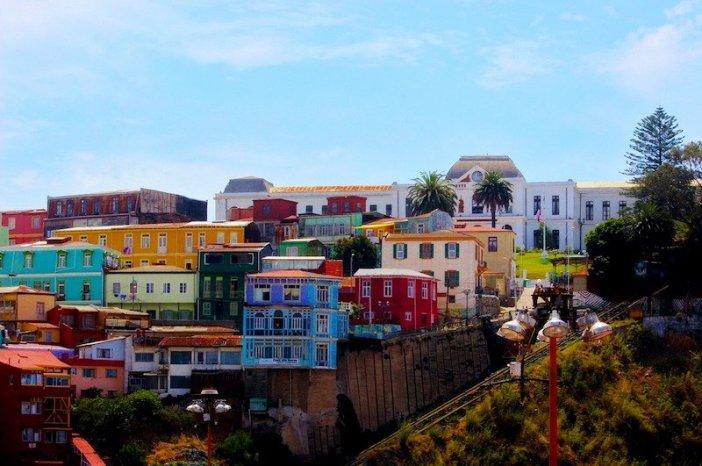 Valparaíso, para descobrir no Chile